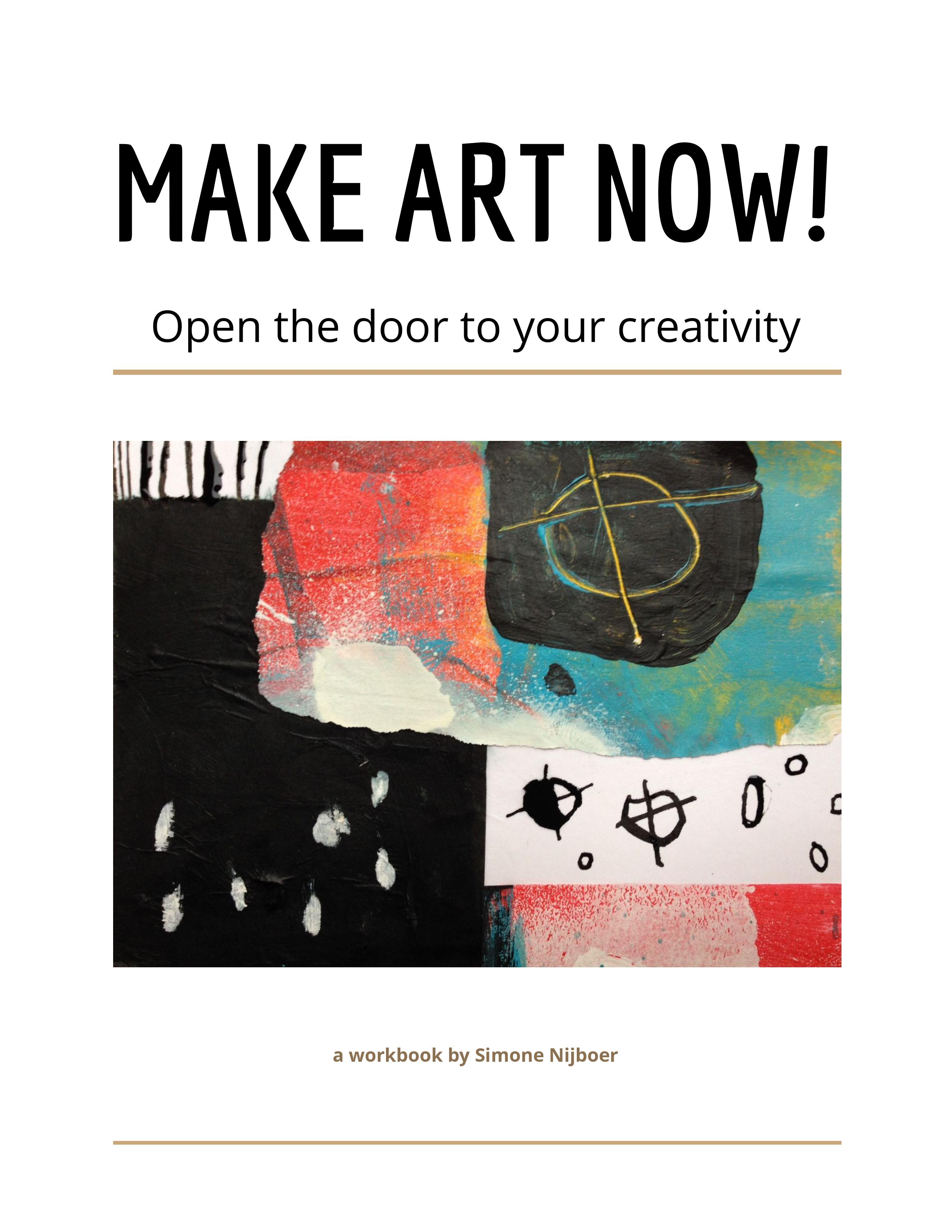 Free Workbook Make Art Now!