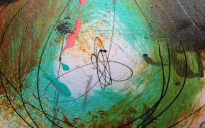 Non-duality and abstract intuitive painting