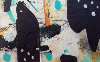 Daily Painting: A collage from waste paper